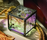 Cross Stained Glass Boxes