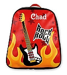 Personalized Guitar Go-Go Backpack