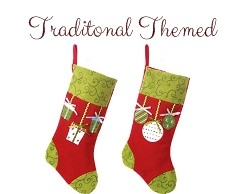 Traditional Themed Stocking