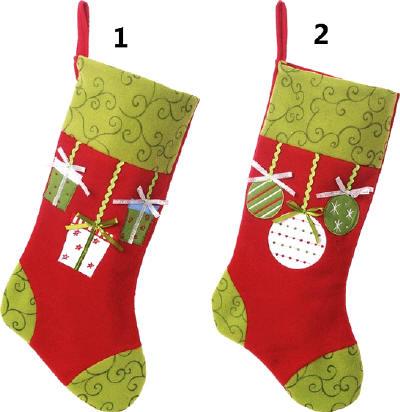 Details Personalized Plush Felt Christmas Stockings