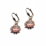 Crab Dangle Earrings