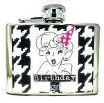 Birthday Girl Personalized Flask
