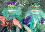 King and Queen Royal Christmas Frogs