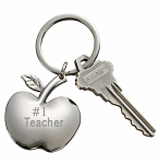 Personalized Apple Key Chain