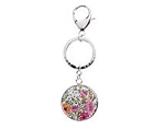 Personalized Vera Bradley Key Chain