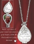 Personalized Christmas from Heaven Pewter Locket