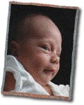 Picture Weave Personalized Afgan Throw Blanket Kit