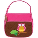 Personalized Quilted Toddler Owl Purse