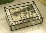 Cross Reed Stained Glass Picture Box 103