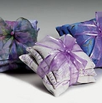 Lavender Scented French Stamped Linen SACHETS