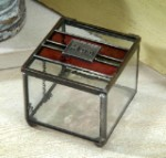 Mom Stained Glass Jewelry Box