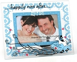 Personalized Happily Ever After Hand Painted Wedding Frame