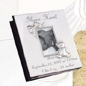 Personalized Baby's Album with Teddybear