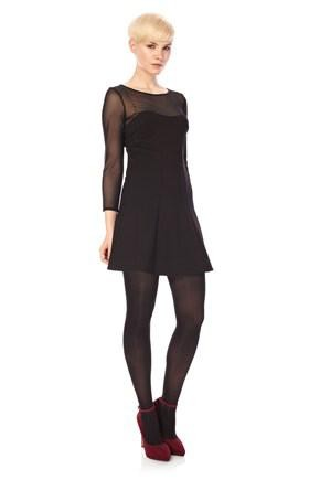 French Connection Power Stretch Peplum Dress