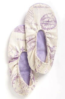 Lavender Scented French Stamped Spa Footsies