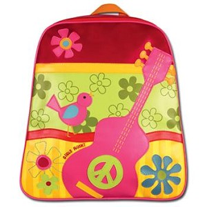 Personalized Girls Rock Go-Go Backpack