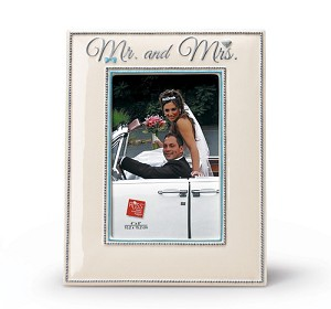 Mr and Mrs Wedding Picture Frame