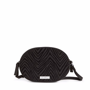Vera Bradley Zebra Flock Crossbody in Black