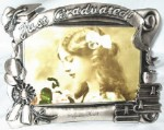 Personalized Pewter Finish Graduation Picture Frame