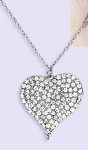 Bauble Lulu Bling Heart Necklace