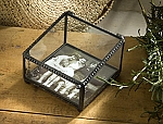 Personalized Vintage Art Stained Glass Photo Box