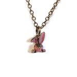 Bunny Head Necklace